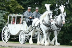 Kent Wedding Carriage All weather glass coach for your wedding day