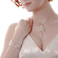 Wedding Accessories, Bridal Necklace and bracelet, created by Kent Wedding Accessories Company
