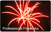 Professional Kent Wedding Fireworks and firework displays