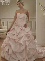 Pink Wedding Dress available at Bridal Wear Supplier in Kent