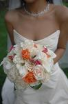 Bridal bouquet with colour themed highlights by Kent based Florist