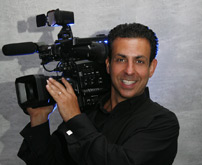 Kent Wedding Videographer with professional video equipment