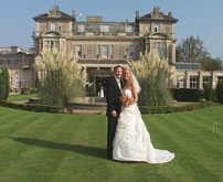 Bride and Groom at Kent Wedding Venue, image captured by Professional Kent Wedding Videographer