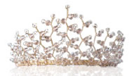 Wedding Accessories Tiara for Bride created by Kent wedding accessories company