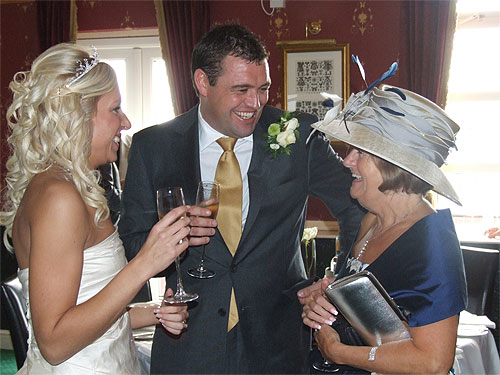 professional wedding caterers in Kent providing wedding breakfasts for brides and grooms