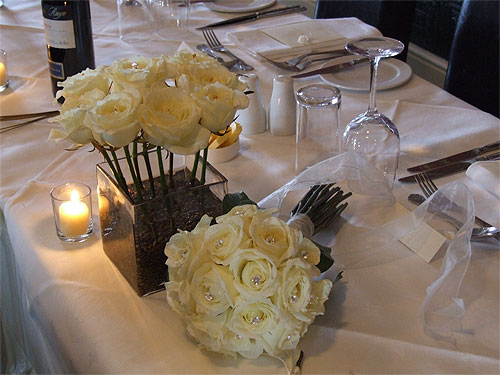 Kent Wedding Caterers, table set up for their Catering Services in Kent