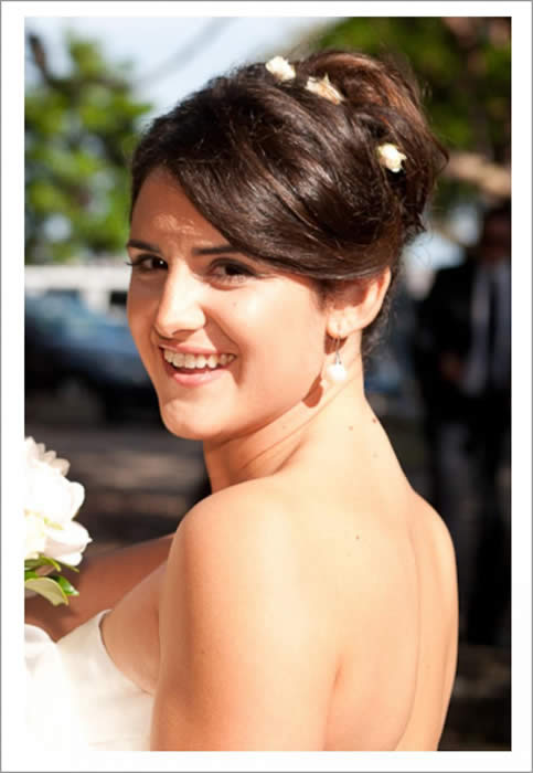 bridal make-up - easy and fresh day look